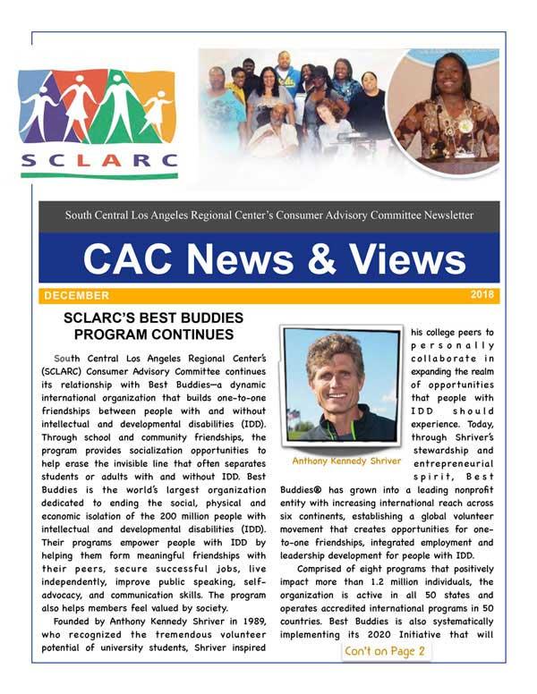 1CAC Newsletter December 18 1