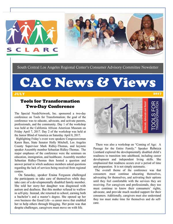 2CAC Newsletter July 2017 1